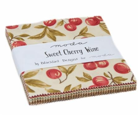 Sweet Cherry Wine Charm Pack