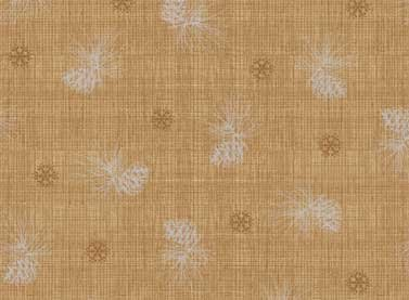 Red Rooster Winter Celebration-Snowflakes and Pinecones