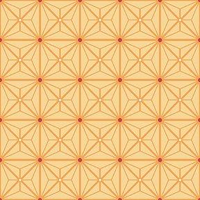 Diamond Geo Patch - Yellow