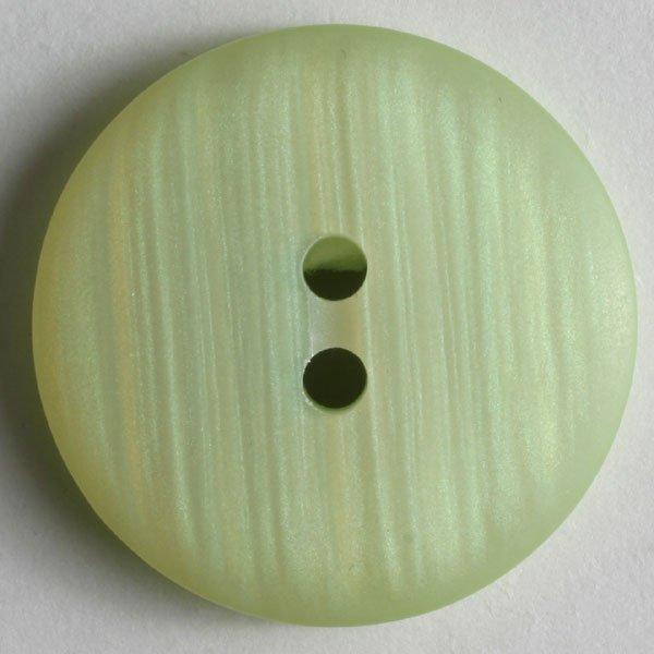 Dill Buttons - Polyester Button Light Green