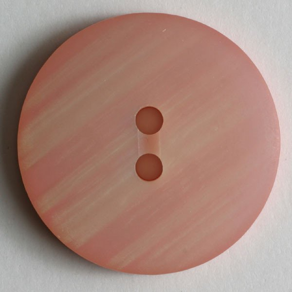 Dill Buttons - Polyester Button Rose