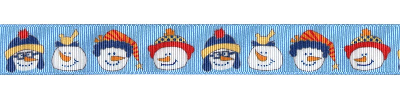 Playful Snowmen 1 Ribbon