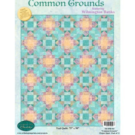 Common Grounds Quilt Kit