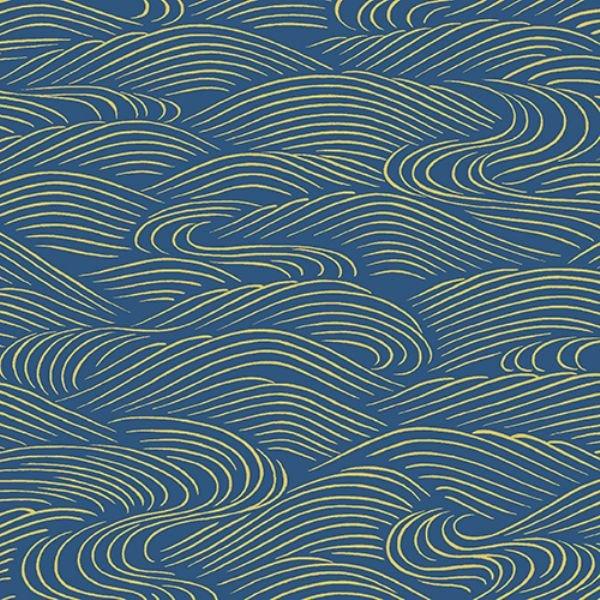 Mandalay Med Blue Swirls