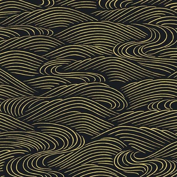 Mandalay Black Swirls