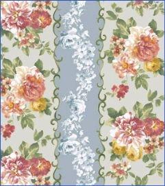 Andover Fabrics Wilhelmeana's Garden