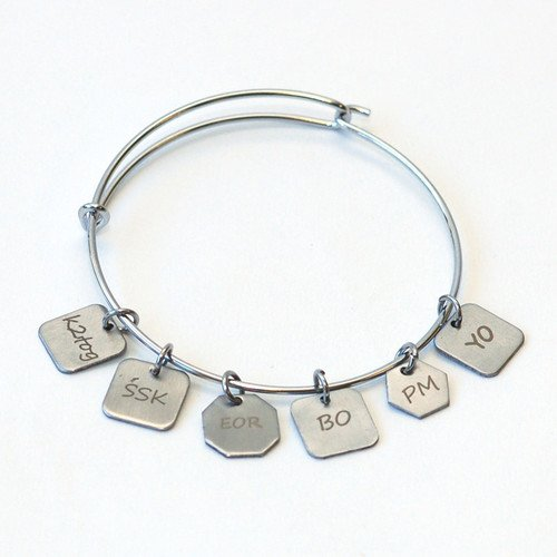 Stitch Marker Charm Bracelet XS/SM