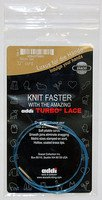 Short Lace Tip Cords 80cm/32 single cord