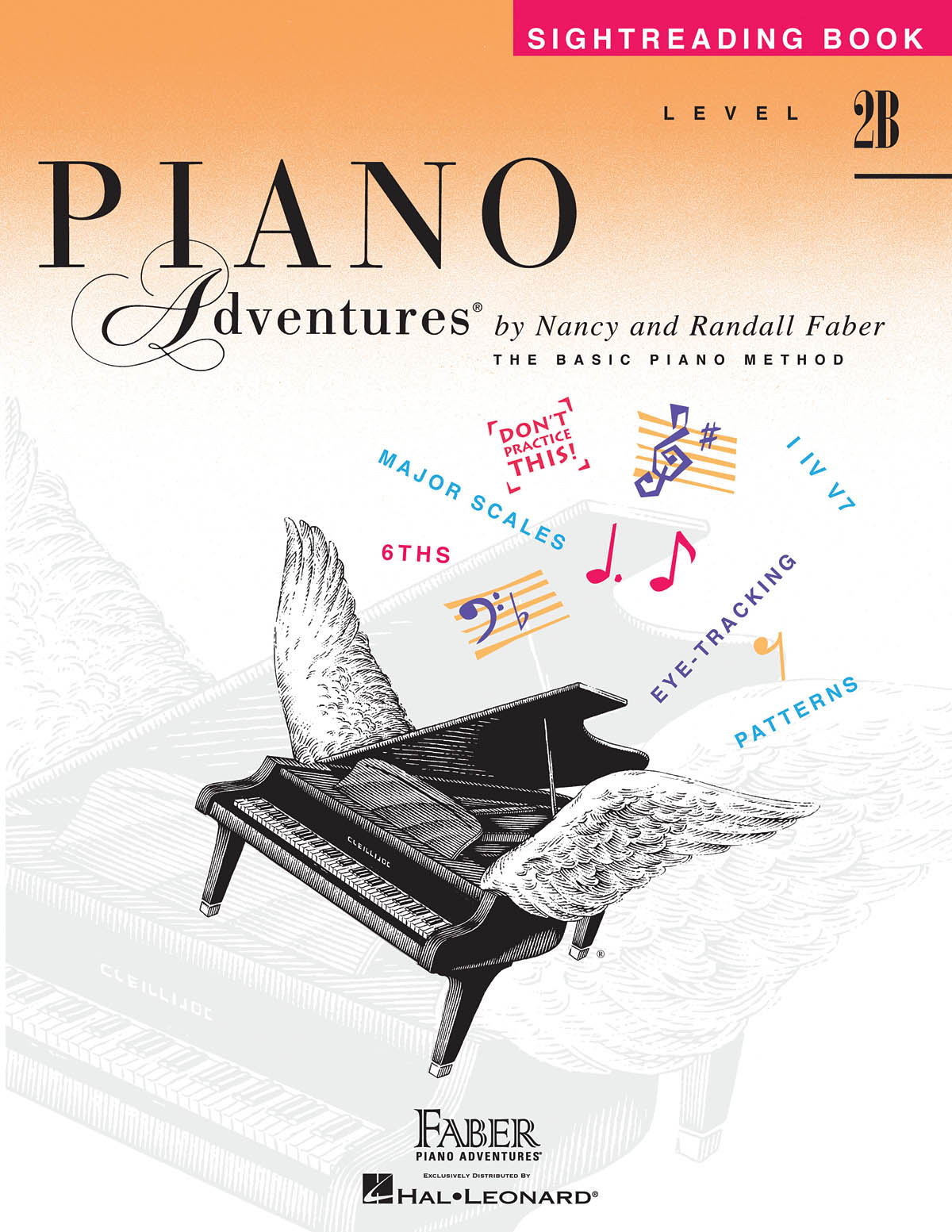 Faber Piano Adventures, Sightreading Book, Level 2B