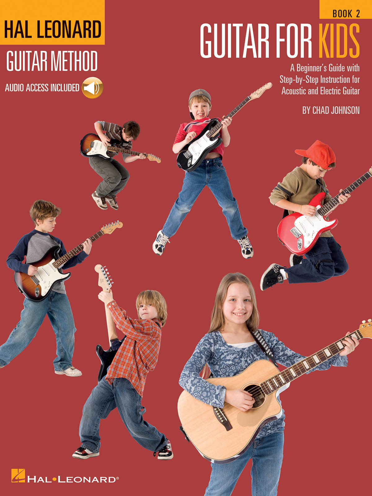 Guitar for Kids Hal Leonard Guitar Method, Book 2