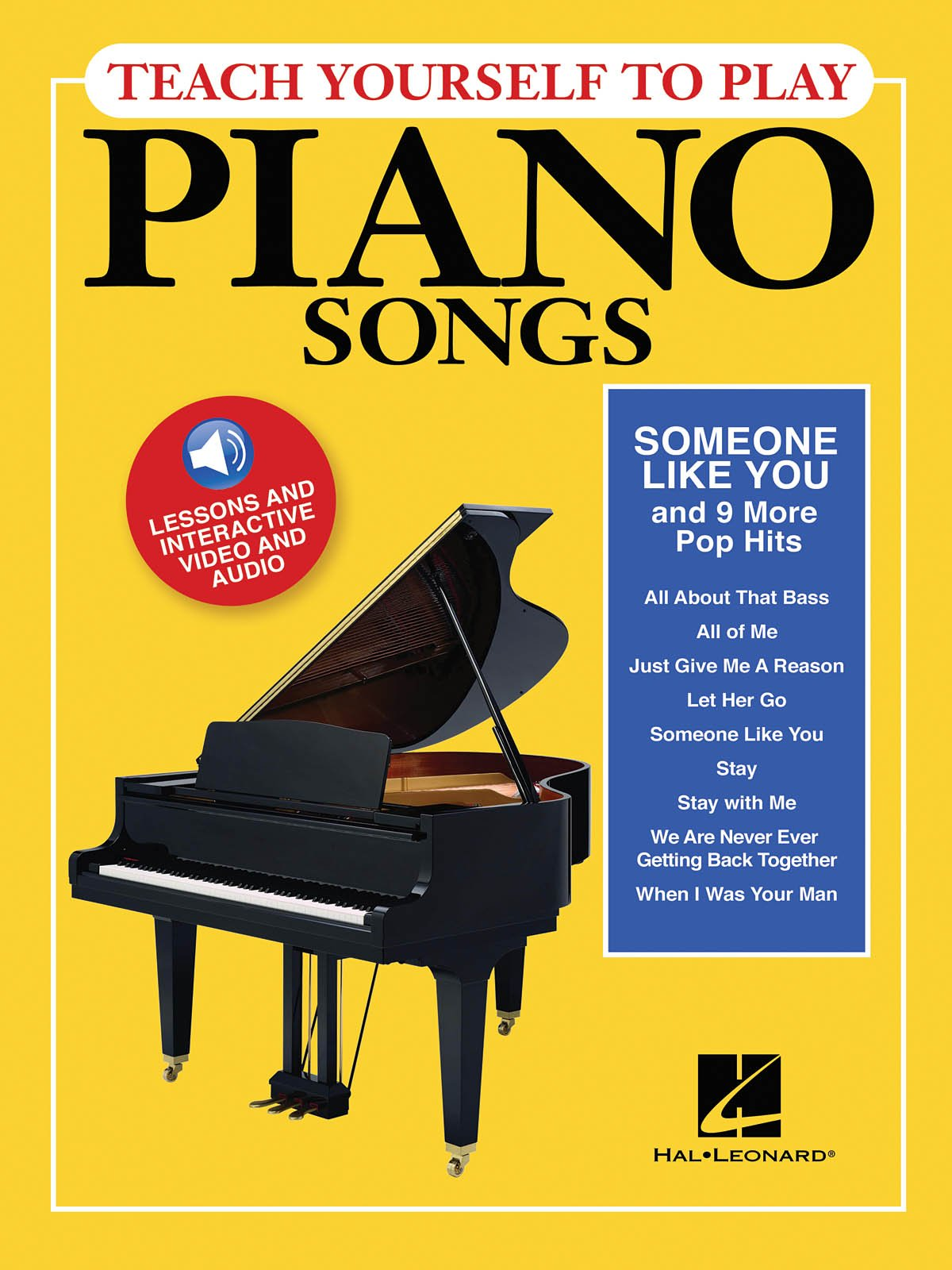 Teach Yourself to Play Piano Songs: Someone like You & 9 More Pop Hits
