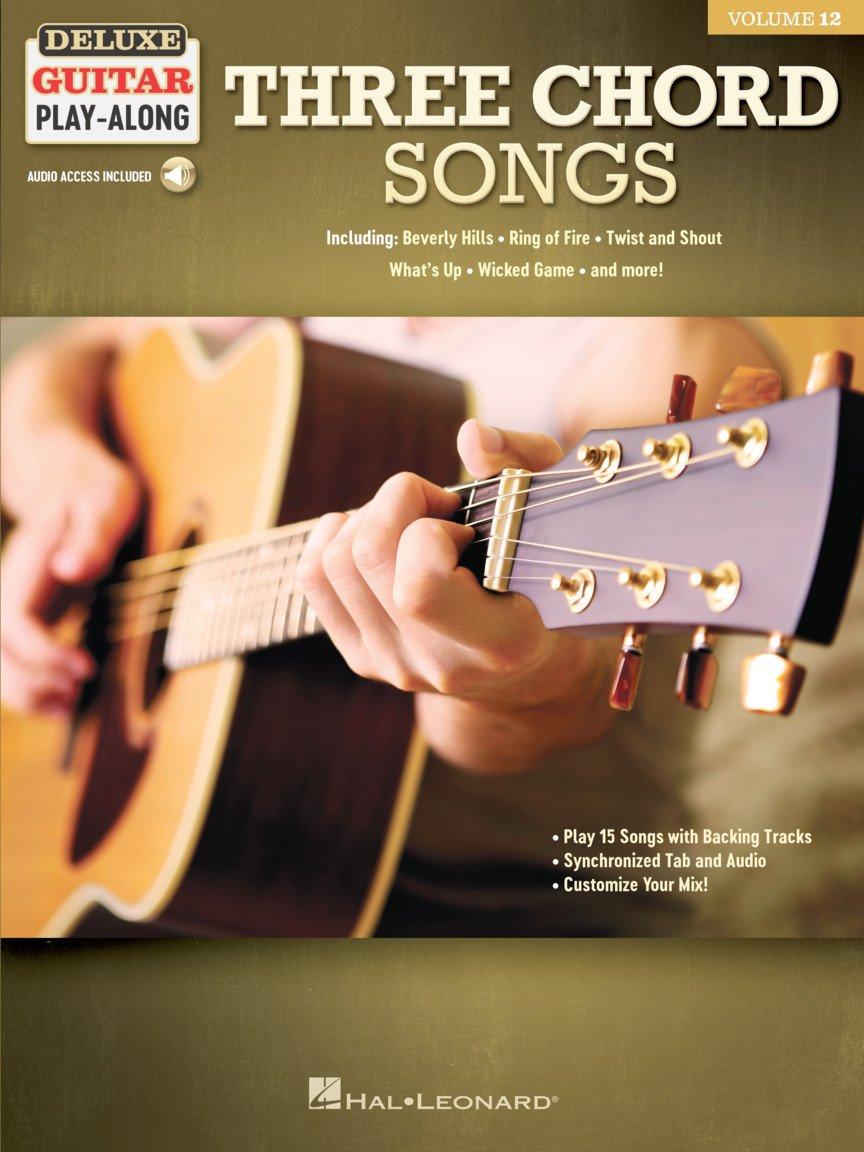 Three Chord Songs - Guitar Play-Along Volume 12