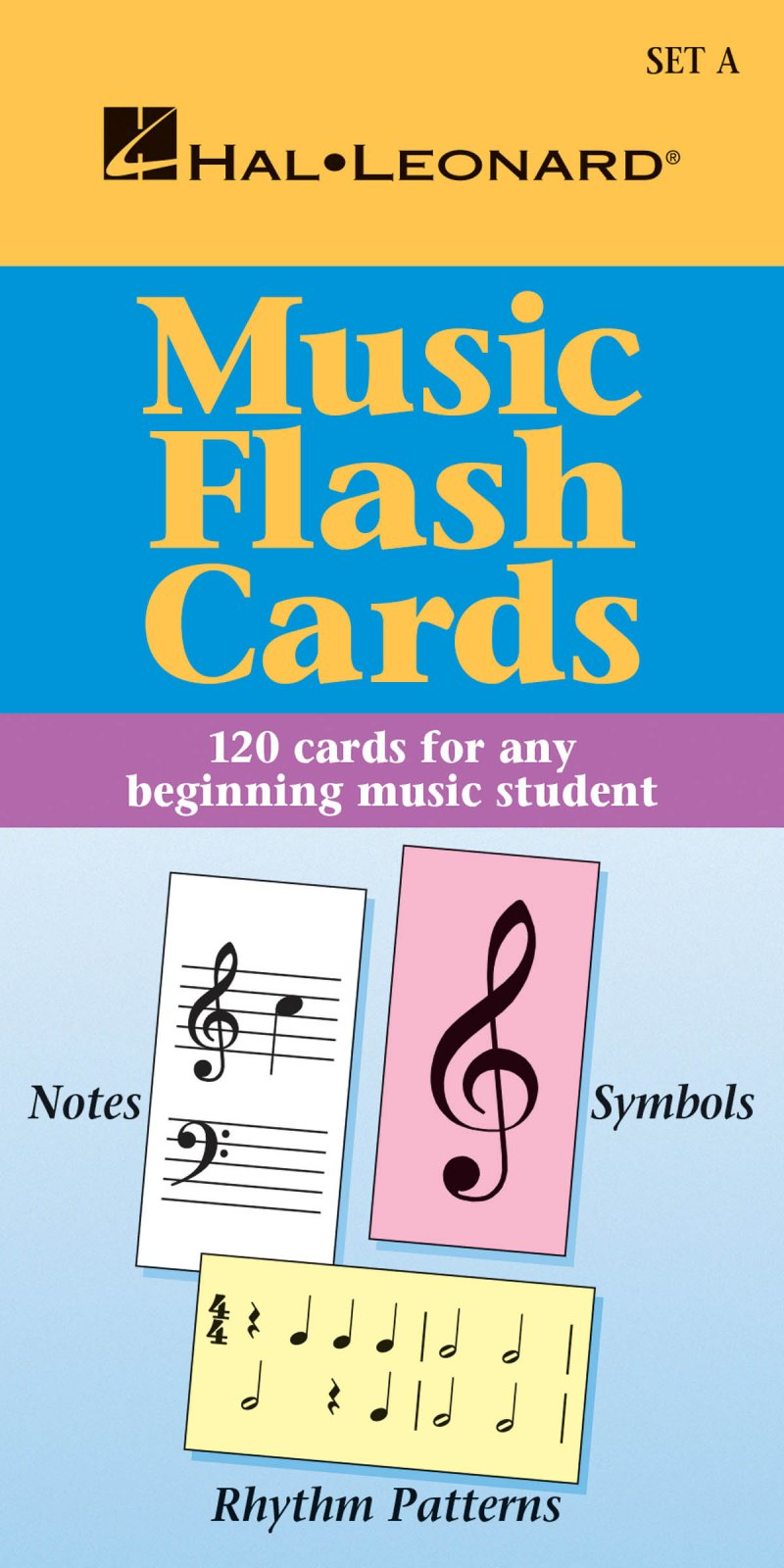 Hal Leonard Music Flash Cards ? Set A