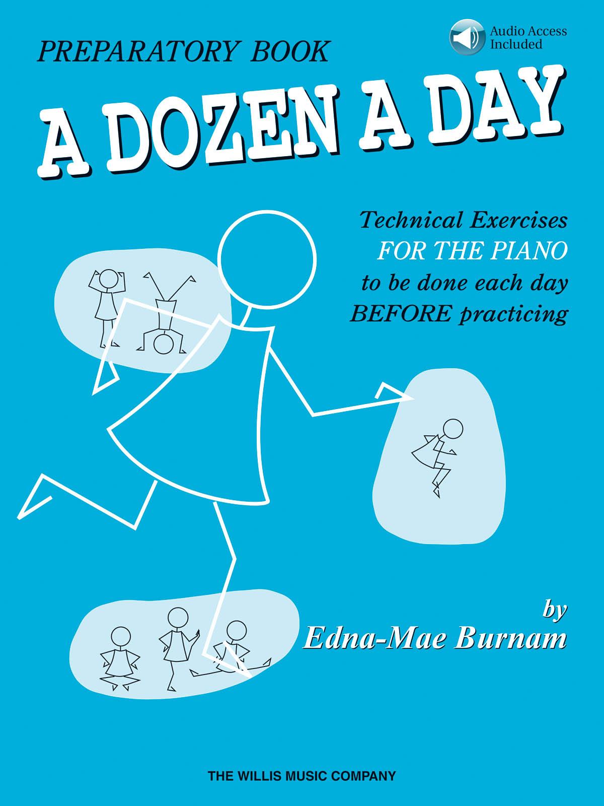A Dozen a Day Preparatory Book w/ CD