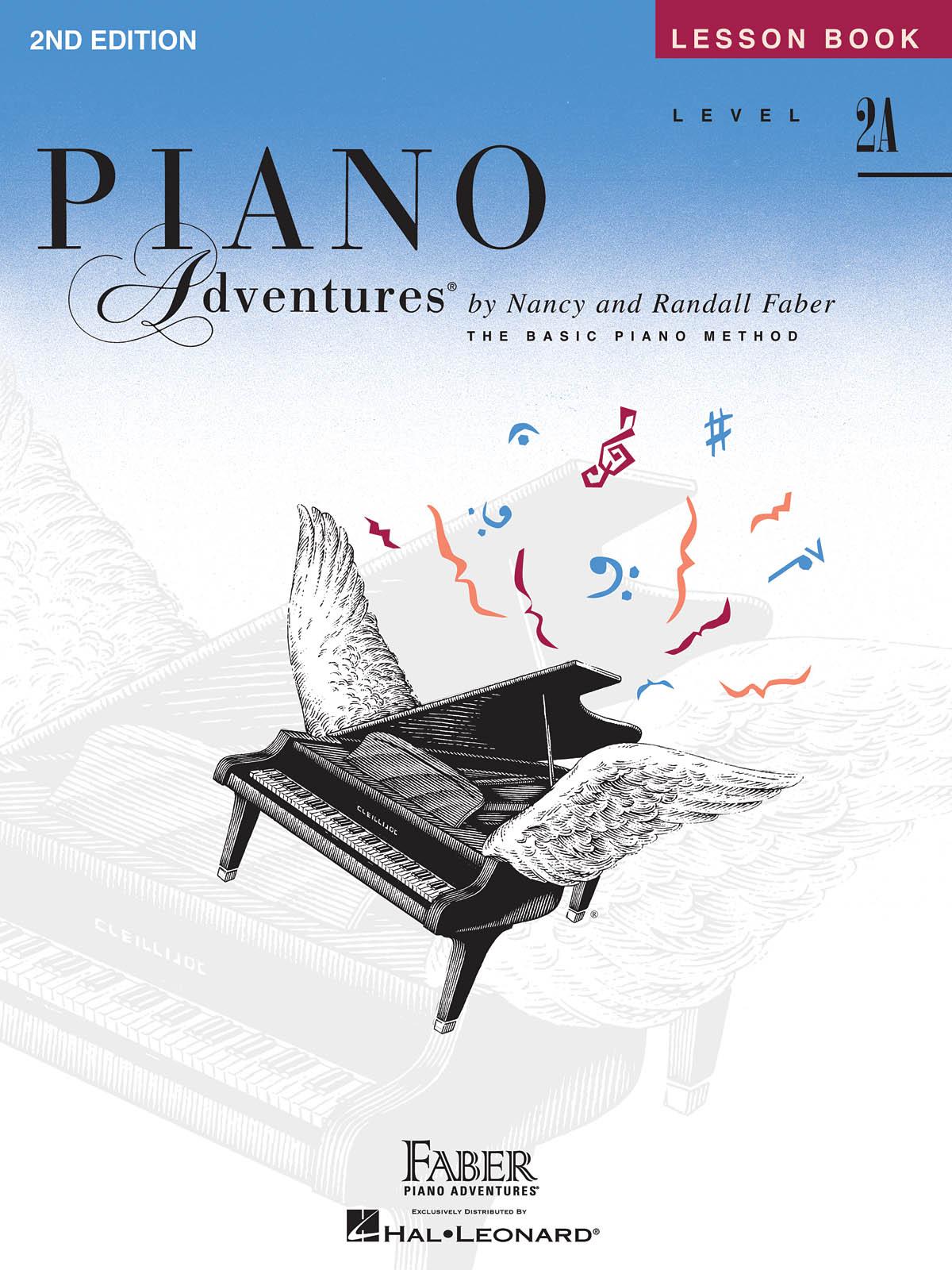Faber Piano Adventures, Lesson Book, Level 2A