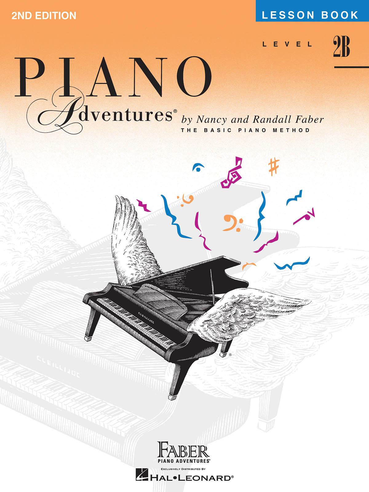 Faber Piano Adventures, Lesson Book, Level 2B