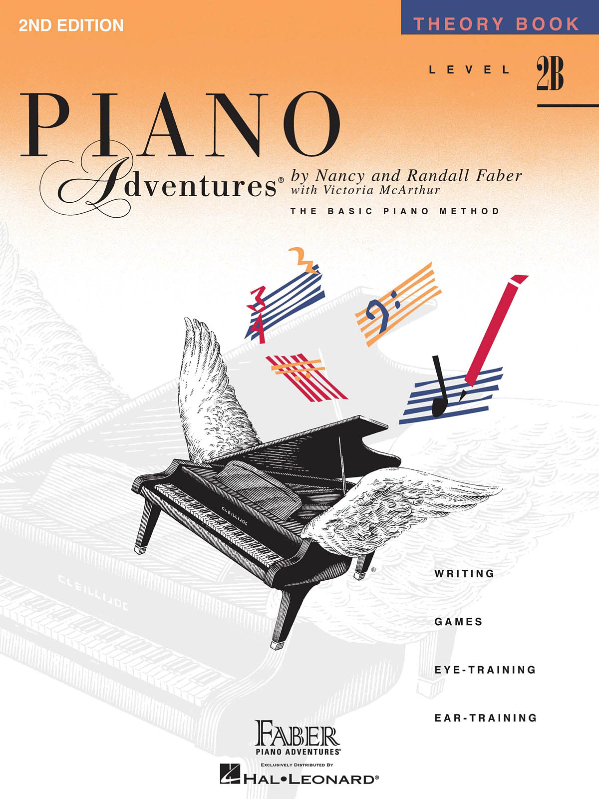 Faber Piano Adventures, Theory Book, Level 2B