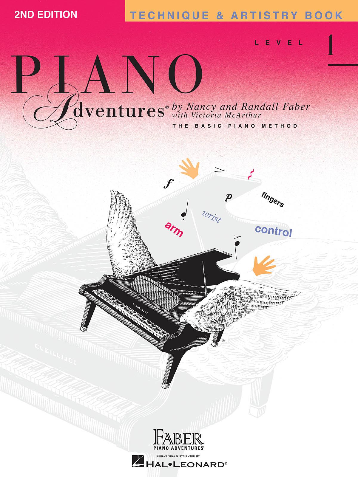 Faber Piano Adventures, Technique & Artistry Book, Level 1