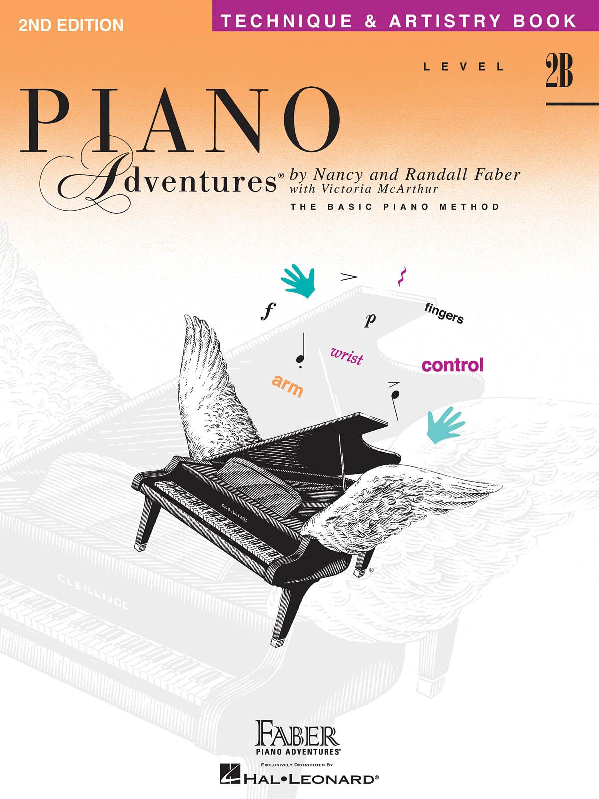 Faber Piano Adventures, Technique & Artistry Book, Level 2B