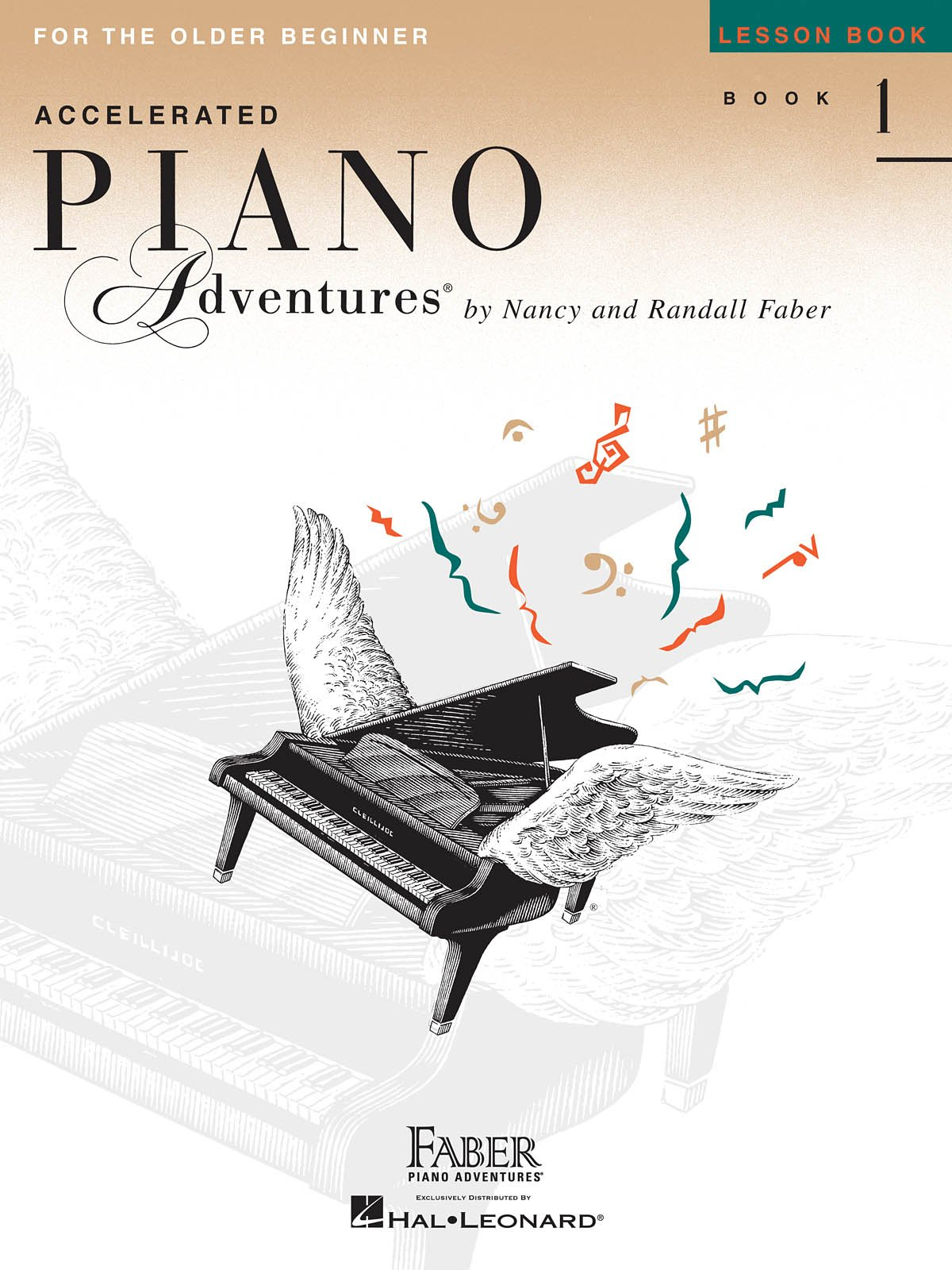 Accelerated Piano Adventures for the Older Beginner, Lesson, Book 1