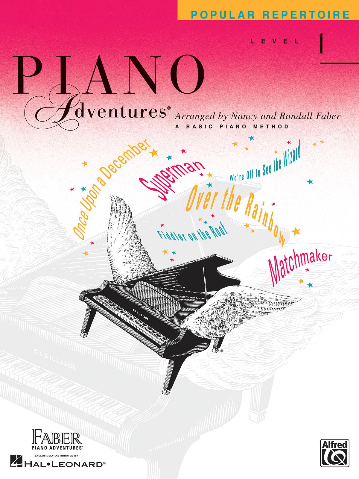 Faber Piano Adventures, Popular Repertoire, Level 1