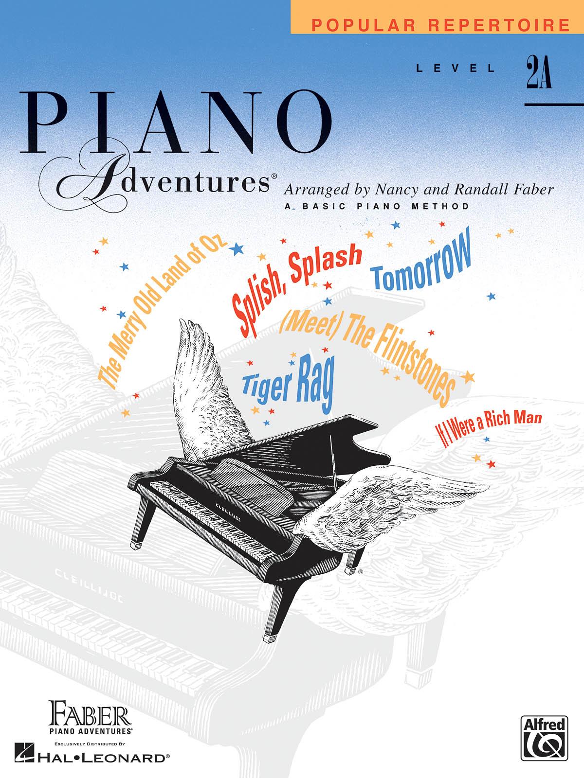 Faber Piano Adventures, Popular Repertoire, Level 2A