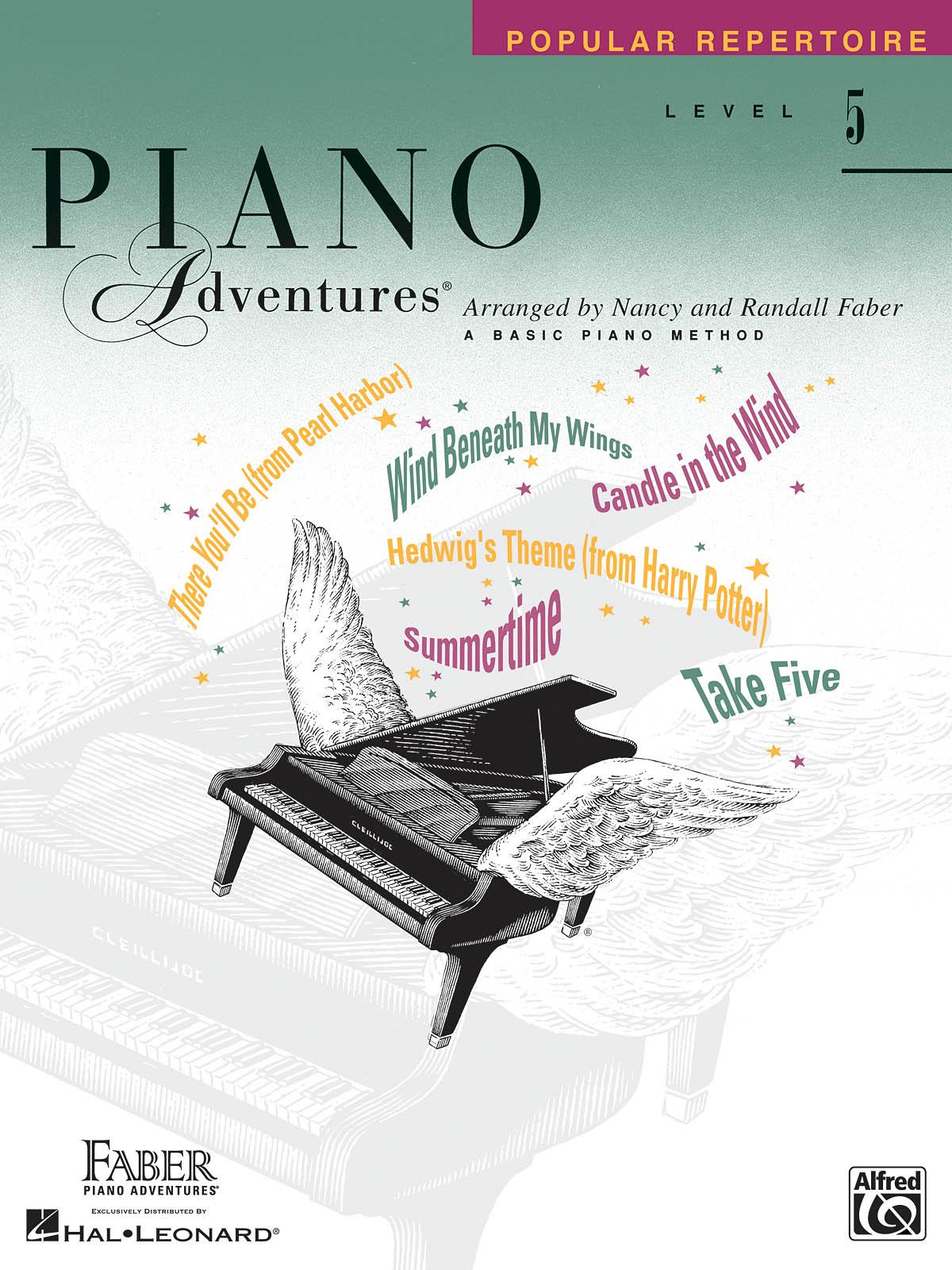 Faber Piano Adventures, Popular Repertoire, Level 5