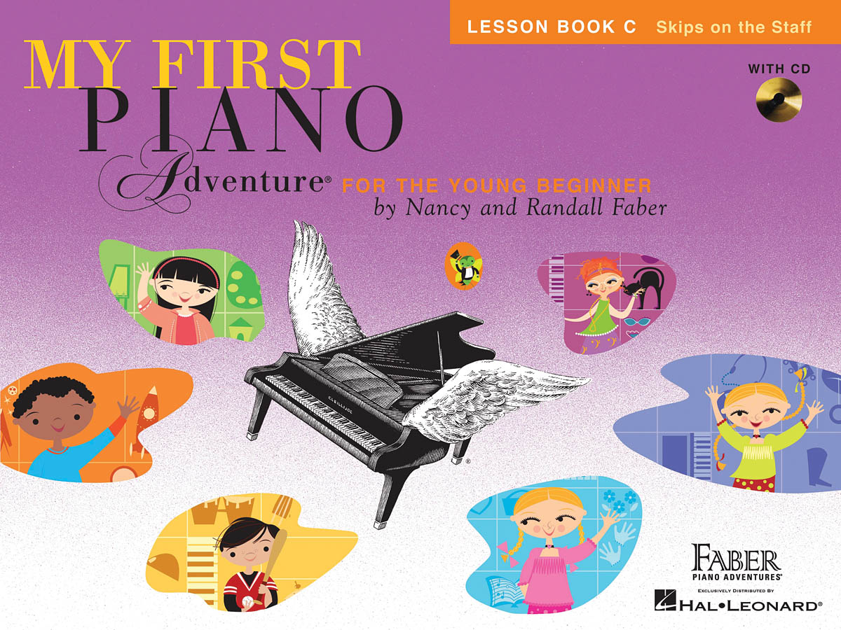 My First Piano Adventure Lesson Book C, Skips on the Staff