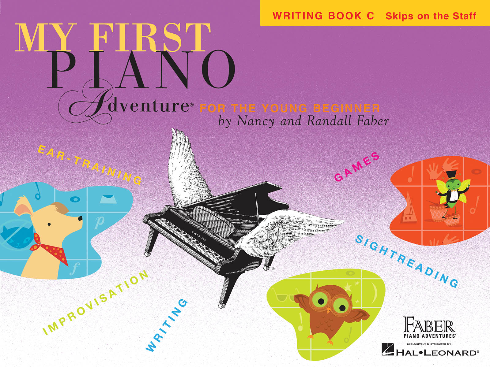 My First Piano Adventure Writing Book C, Skips on the Staff