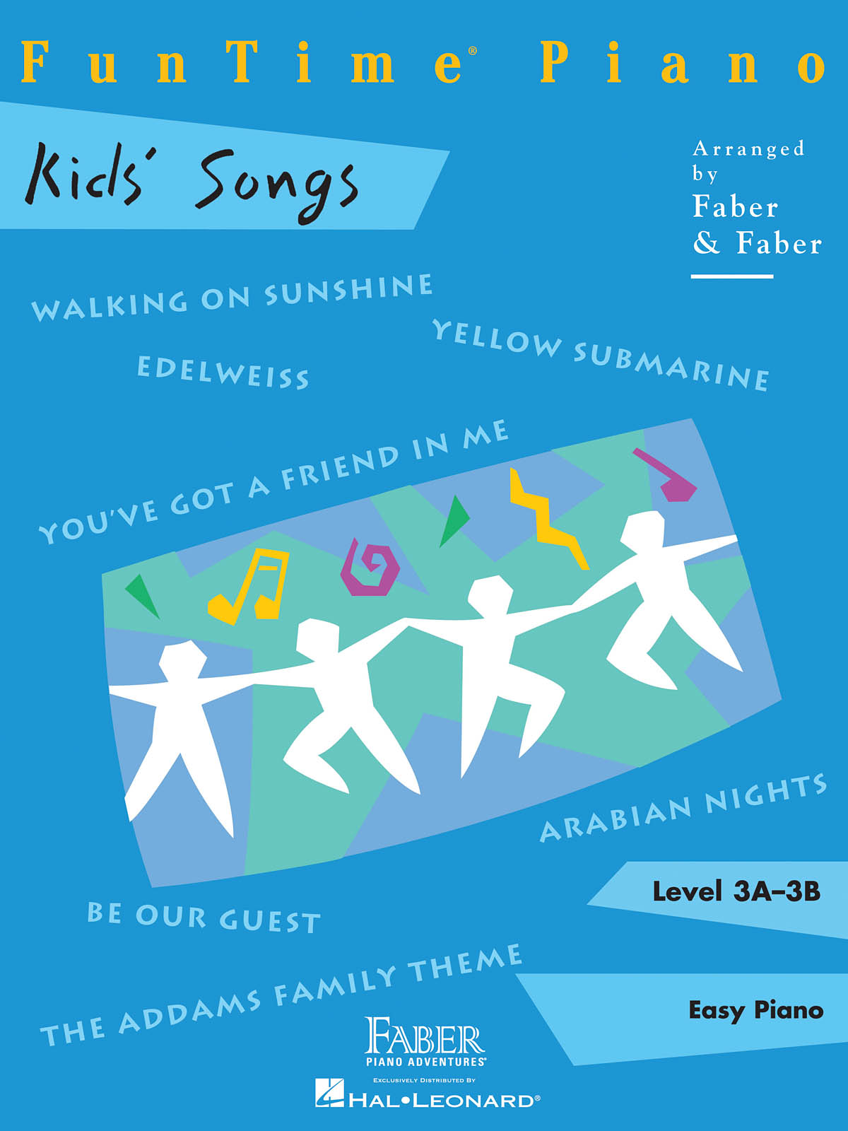 Faber FunTime Kid's Songs (Level 3A-3B)