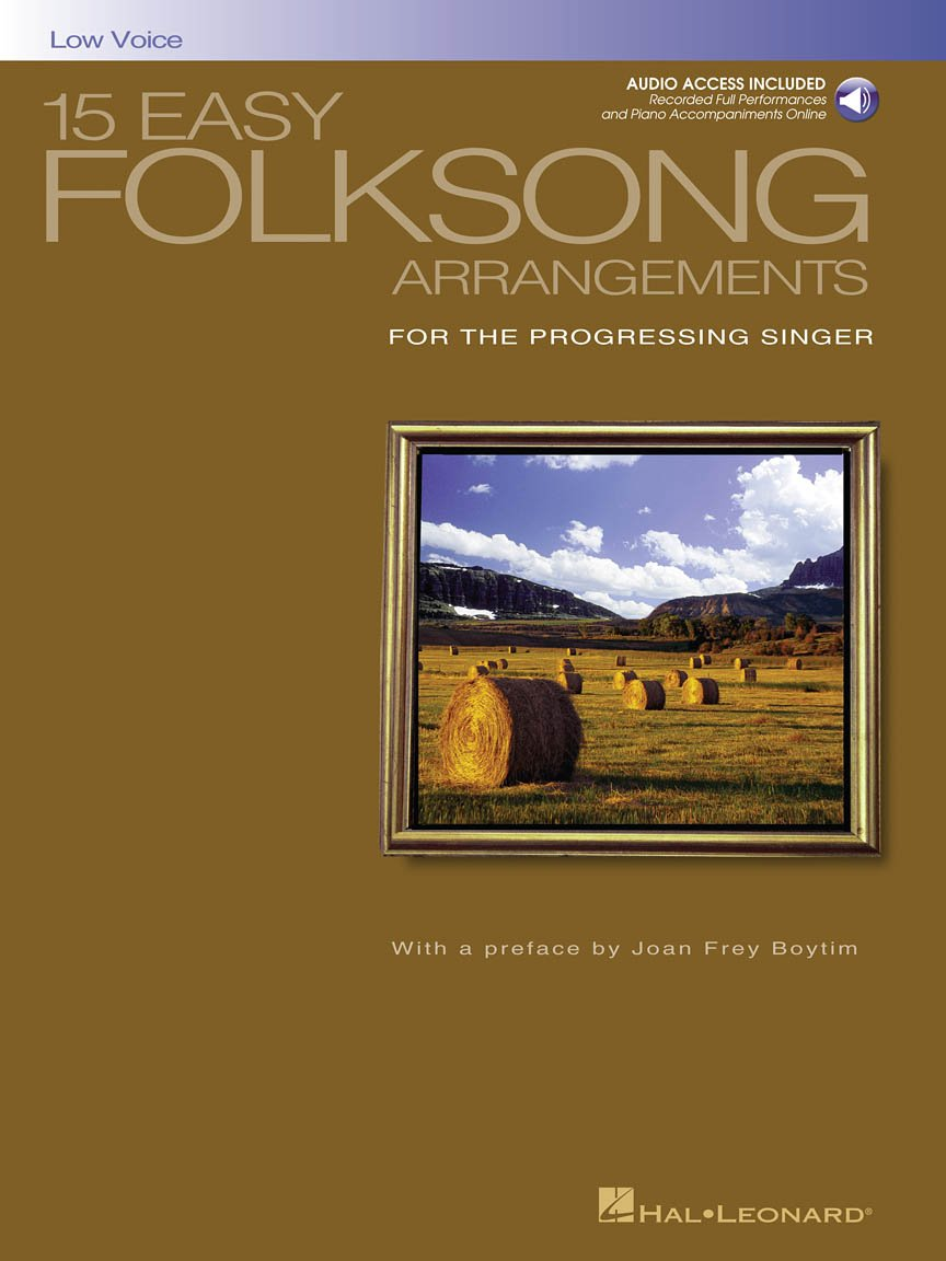 15 Easy Folksong Arrangements for the Advancing Singer (10)