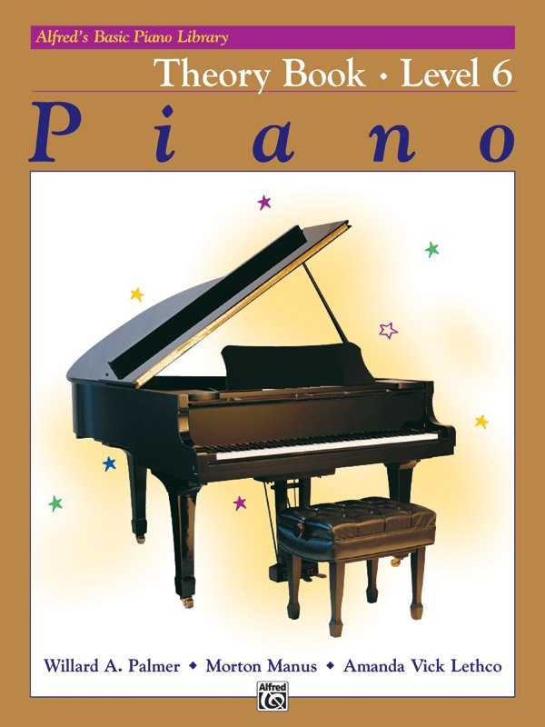 Alfred's Basic Piano Library: Theory Book 6