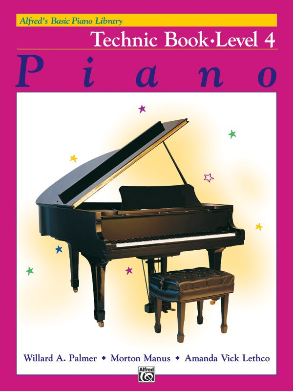Alfred's Basic Piano Library: Technic Book 4