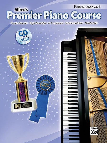 Alfred's Premier Piano Course, Performance 3