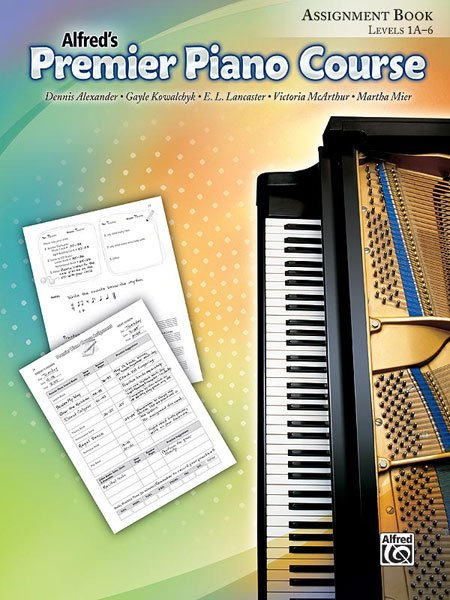 Alfred's Premier Piano Course, Assignment Book Levels 1A-6