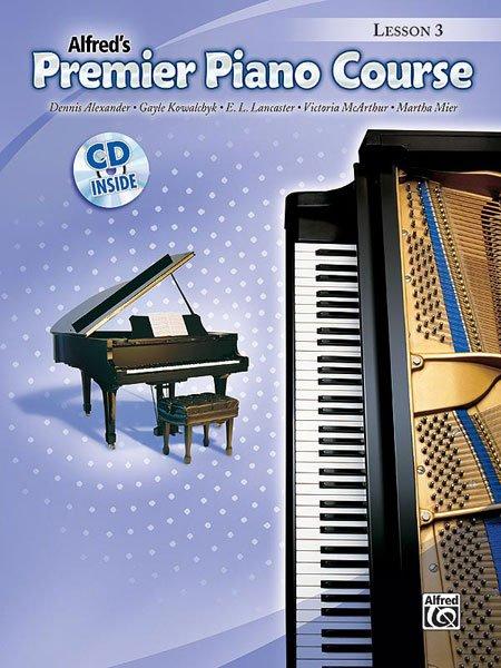 Alfred's Premier Piano Course, Lesson 3 (w/CD)