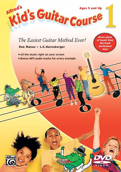 Alfred's Kid's Guitar Course 1 (DVD)