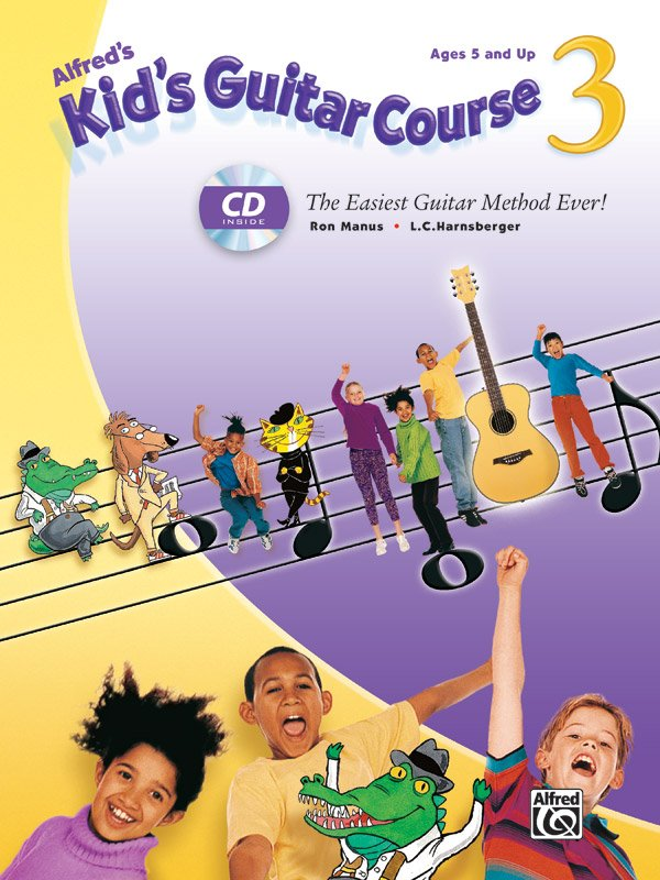 Alfred's Kid's Guitar Course 3 Book/CD