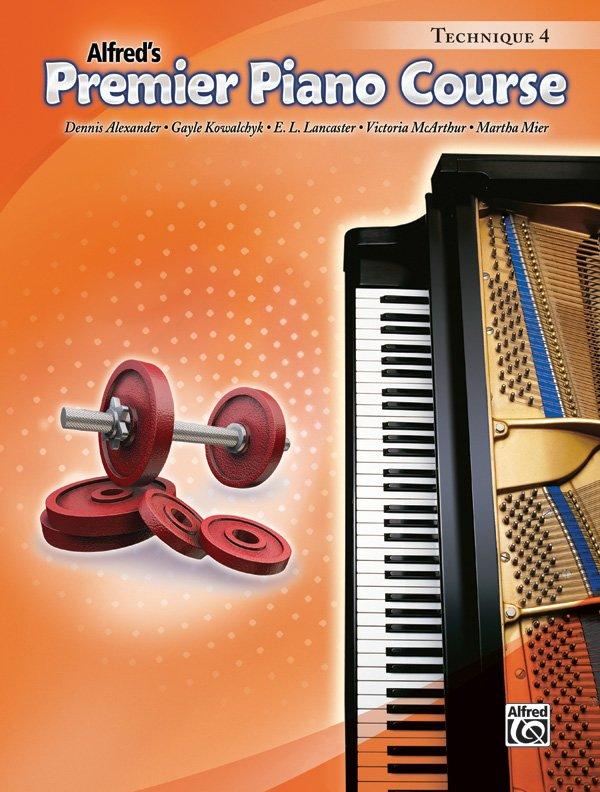 Alfred's Premier Piano Course, Technique 4