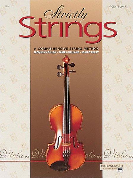 Strictly Strings, Viola, Book 1