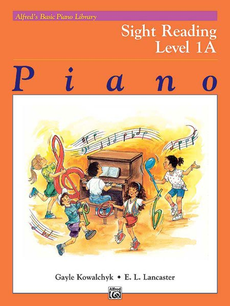Alfred's Basic Piano Library: Sight Reading, Book 1A