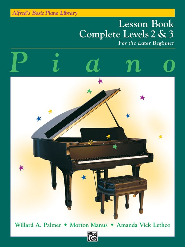Alfred's Basic Piano Library - For the Later Beginner: Lesson Book Complete 2 & 3