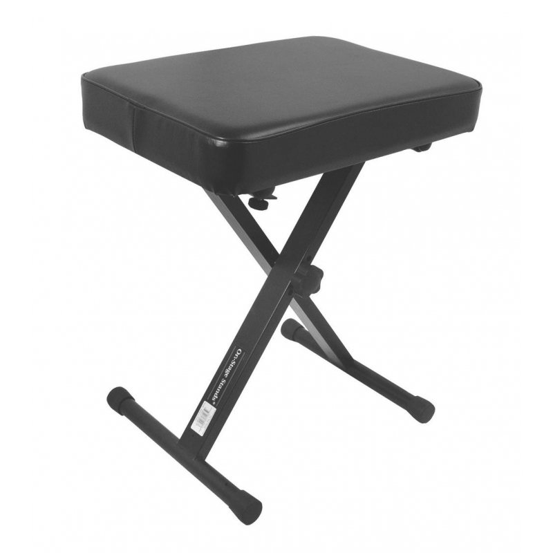 On-Stage KT7800 Three-Position X-Style Keyboard Bench