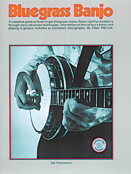 Bluegrass Banjo Book & CD