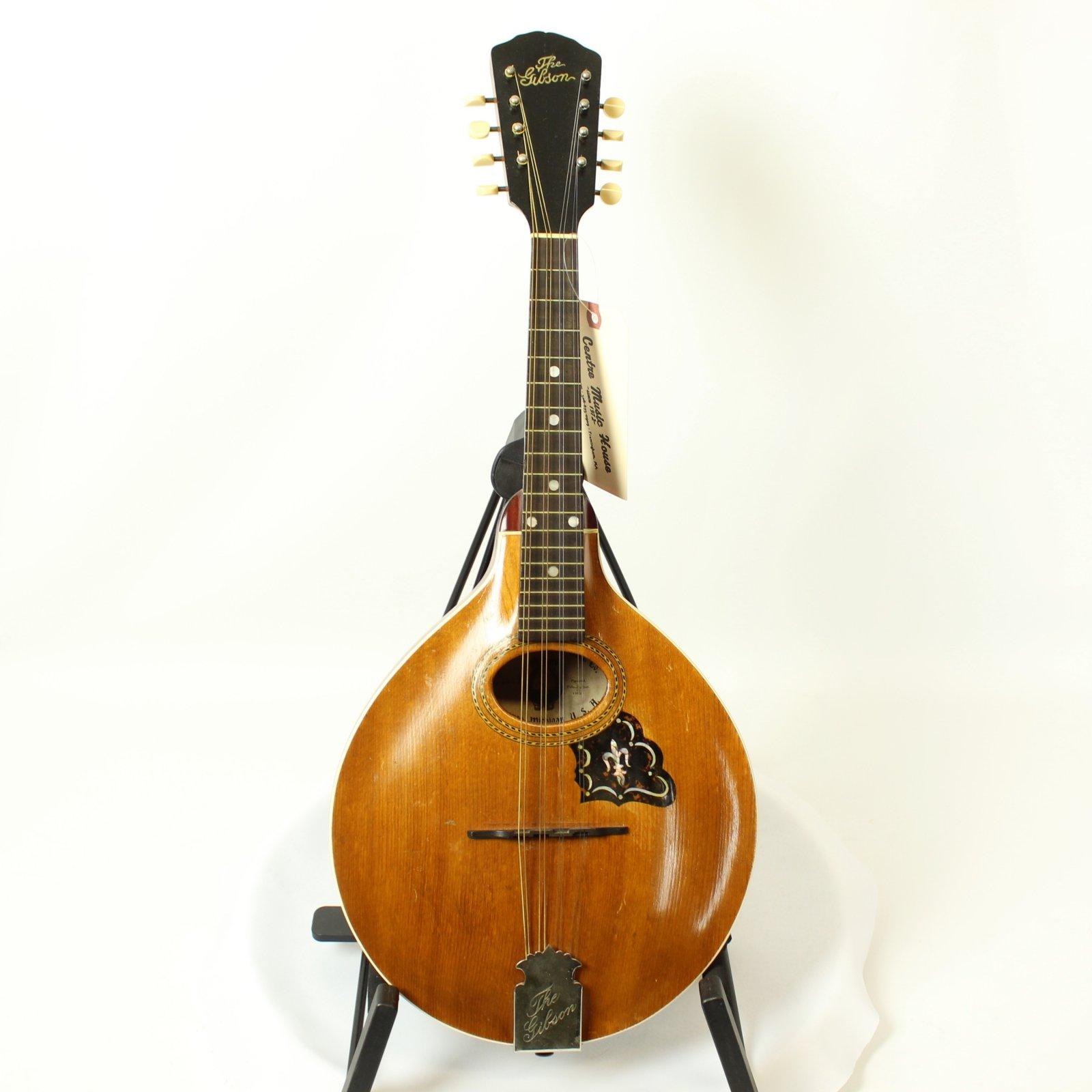 1907 The Gibson A-Style Mandolin No.6619 w/ Case