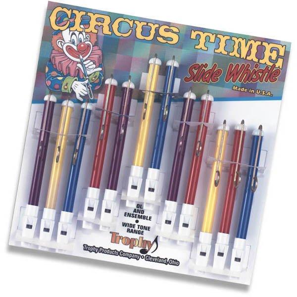 Circus Time Plastic Slide Whistle