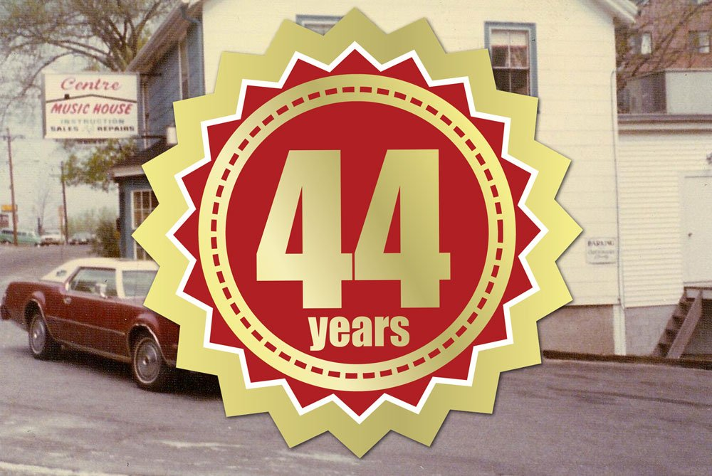 Centre Music House 45 years