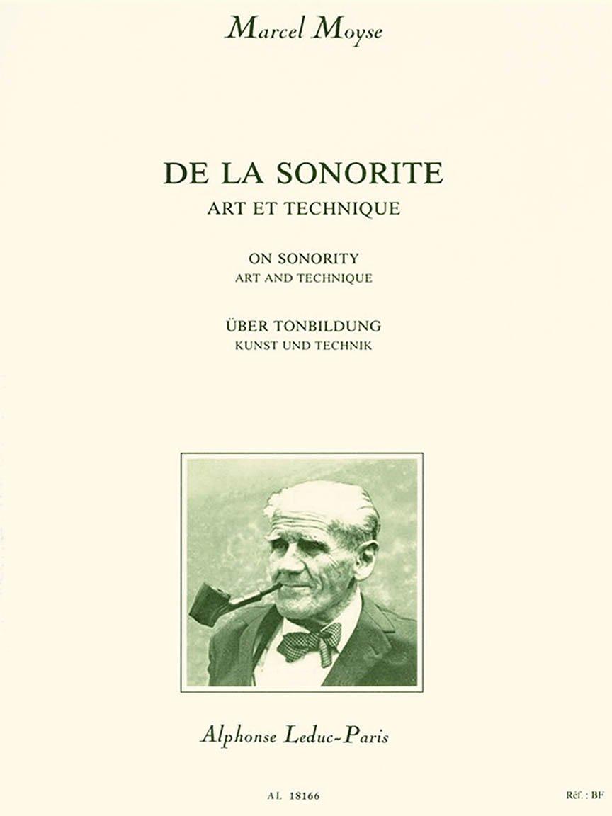 De La Sonorite: Art et Technique, Moyse