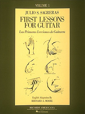 First Lessons For Guitar Vol. 1 By Julio S. Sagreras
