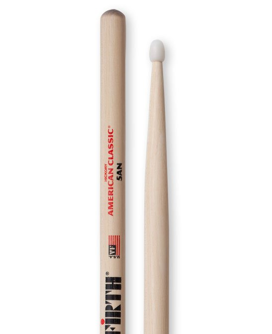 Vic Firth American Classic 5AN Drumsticks, Hickory, Nylon Tip
